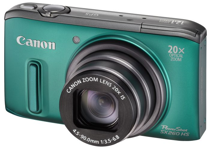 Canon PowerShot SX260 HS green (6196B012)