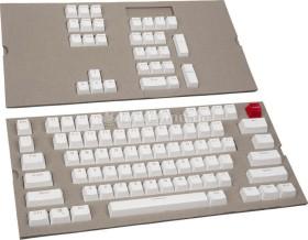 Glorious PC Gaming Race ABS Double-Shot Keycap set, white, US (G-104-White)