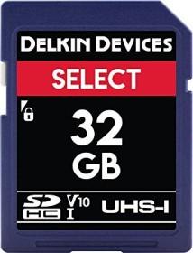 Delkin Select 163X R24/W17 SDHC 32GB, UHS-I U1, Class 10 (DDSDR16332GB)