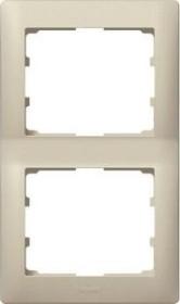 Legrand Galea Life Rahmen 2-fach senkrecht, titanium (771406)