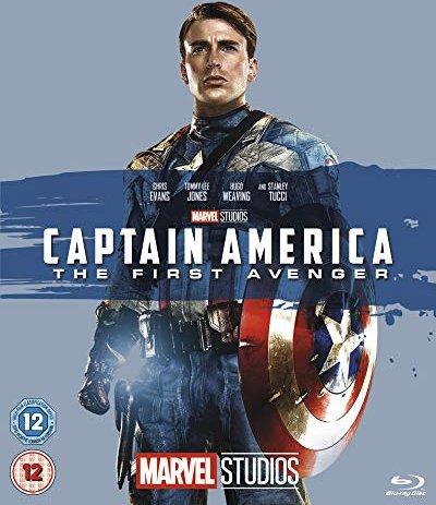Captain America - The First Avenger (Blu-ray) (UK) -- via Amazon Partnerprogramm