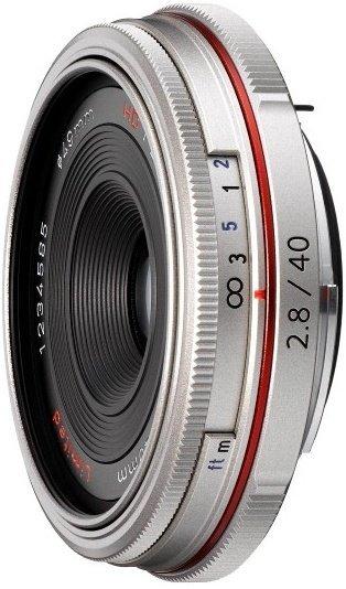 Pentax HD DA 40mm 2.8 Limited silver (21400)