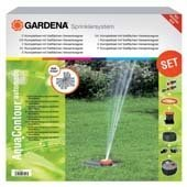 Gardena AquaContour automatic Vielflächen-Versenkregnerset (2708)