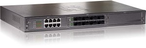 Level One GSW-2493, 4-Slot Chassis