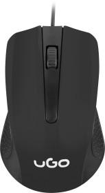 Natec uGo office wired Mouse black, USB (UMY-1213)
