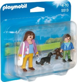 playmobil City Life - Duo Pack Mama mit Schulkind (5513)