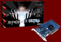 Guillemot / Hercules 3D Prophet II Ultra, GeForce2 Ultra, 64MB DDR, TV-out, DVI, AGP, retail