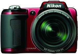 Nikon Coolpix L110 red (VMA601E6)