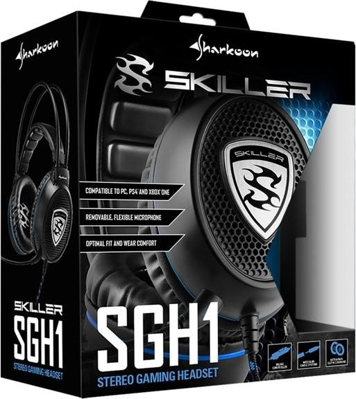 Sharkoon Skiller SGH1 schwarz