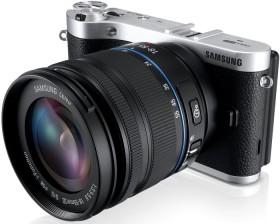 Samsung NX300 schwarz mit Objektiv NX 18-55mm i-Function + Galaxy Tab 2 7.0