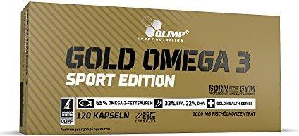 Bild Olimp Gold Omega 3 Sport Edition Kapseln,  120 Stück