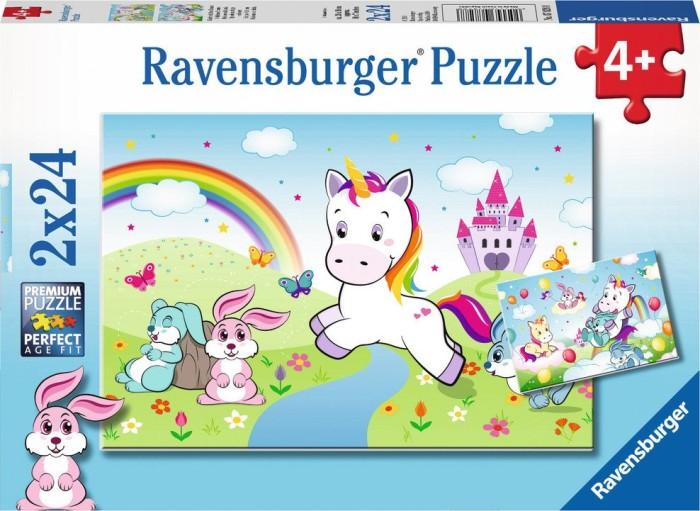 Ravensburger Puzzle Märchenhaftes Einhorn (07828)