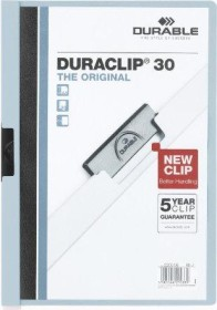 Durable Duraclip 30 Klemm-Mappe A4, blau, 25er-Pack (220010#25)