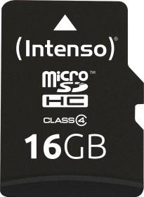 Intenso R21/W5 microSDHC 16GB Kit, Class 4 (3403470)