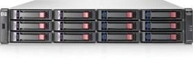 HP StorageWorks SAN MSA2012fc, 2HE, 2x Fibre Channel 4Gb/s (AJ742A)