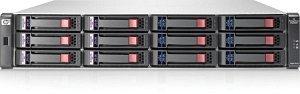 HP StorageWorks MSA2012fc, 2U, 2x Fibre Channel 4Gb/s (SFP) (AJ742A)