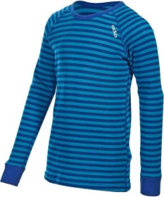 Odlo Active Warm Shirt langarm vivid blue/mazarine blue (Junior) (10459)
