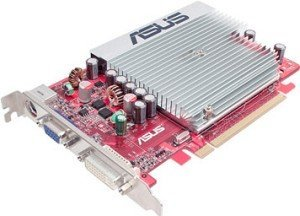 ASUS EAH2400PRO/HTDP/256M, Radeon HD 2400 Pro, 256MB DDR2, VGA, DVI, TV-out, PCIe (90-C1CJA0-HUAY00Z)