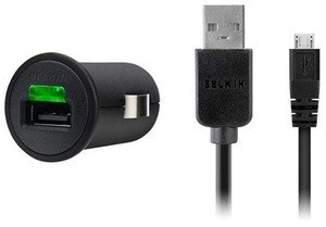 Belkin car charger for Samsung Galaxy S2 (F8M127CW03)