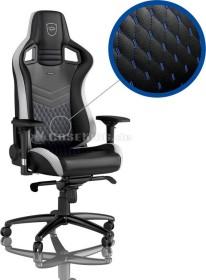 noblechairs Epic Gamingstuhl, schwarz/weiß/blau (NBL-PU-BLA-002)