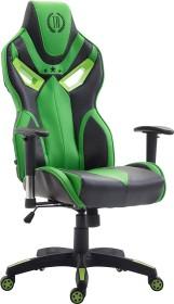 CLP Racing Fangio gaming chair, black/green (1919490125)