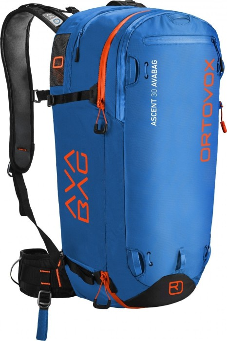 Ortovox Ascent 30 incl. Avabag Unit safety blue