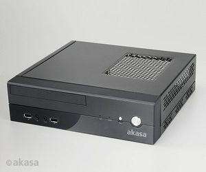 Akasa Crypto, 60W external, mini-ITX (AK-ITX02BK06EU/ITX02BK06UK)