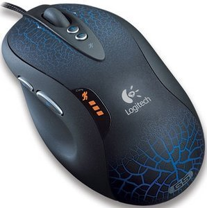 Logitech G5 Laser Mouse Refresh, USB (910-000094)