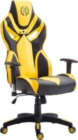 CLP Racing Fangio gaming chair, black/yellow (1919489128)