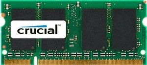 Crucial SO-DIMM 512MB PC-3200 DDR CL3 (DDR-400) (CT6464X40B)