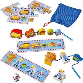 HABA Threading game Building site (302155)