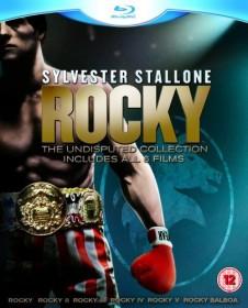 Rocky - The Complete Saga Box (movies 1-6) (Blu-ray) (UK)