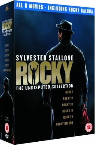 Rocky - The Complete Saga Box (Filme 1-6) (UK) -- via Amazon Partnerprogramm