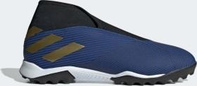 adidas Nemeziz 19.3 TF football blue/gold met./core black (Herren) (EF0387)