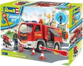 Revell 00804 Junior Kit Fire Truck Feuerwehr  Bausatz 1:20 ab 4J NEU /& OVP
