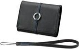 Sony LCS-TWB/B Ledertasche schwarz