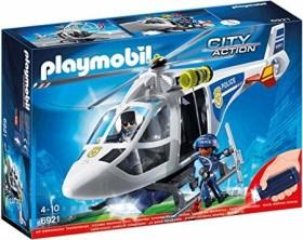 playmobil City Action - Polizeihubschrauber mit LED Suchlicht (6921)