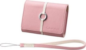 Sony LCS-TWB/P Ledertasche pink