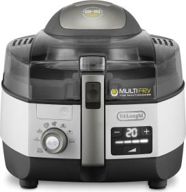 DeLonghi FH 1396/1 Multifry Extra Chef Plus Heißluft-Fritteuse weiß/grau