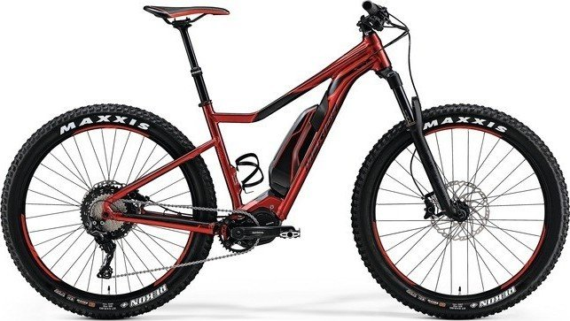 Merida eBig.Trail 800 glossy red/black Modell 2018