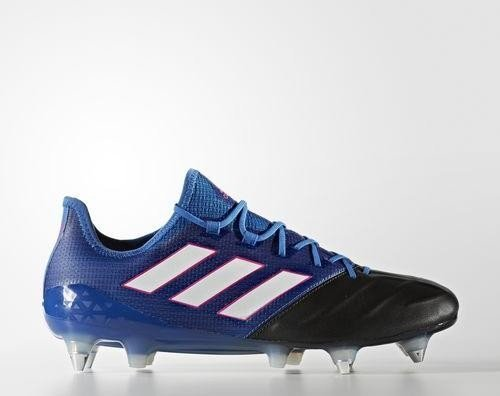 timeless design b4da8 692ec adidas Ace 17.1 SG leather blue/footwear white/core black (men) (BA9192)  from £ 74.80