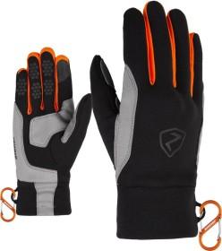 Ziener Gusty Touch Handschuhe orange/schwarz