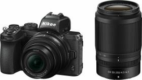 Nikon Z 50 mit Objektiv Z DX 16-50mm VR und Z DX 50-250mm VR (VOA050K002)