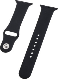 Peter Jäckel Watch Band Silicon für Apple Watch (40mm/38mm) schwarz (17245)