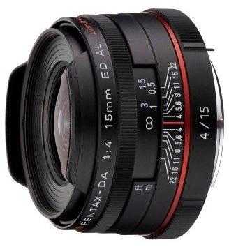 Pentax HD DA 15mm 4.0 AL Limited black (21470)