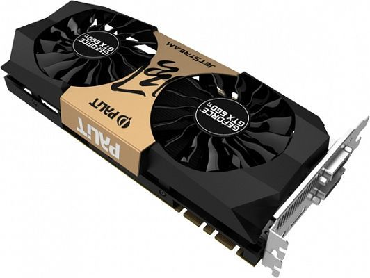Palit GeForce GTX 660 Ti Jetstream, 2GB GDDR5, 2x DVI, HDMI, DisplayPort (NE5X66TH1049-1043J)