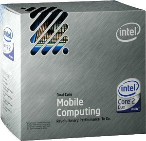 Intel Core 2 Duo Mobile T9600, 2x 2.80GHz, Socket P, boxed (BX80576T9600)