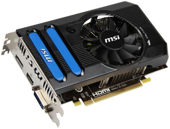 MSI R7770-PMD1GD5, Radeon HD 7770 GHz Edition, 1GB GDDR5, DVI, HDMI, DisplayPort (V271-017R)