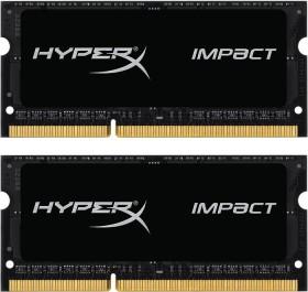 Kingston HyperX Impact SO-DIMM Kit 16GB, DDR3L-1600, CL9-9-9 (HX316LS9IBK2/16)