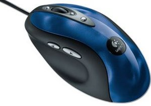 Logitech MX 510 Performance Optical Mouse niebieski, PS/2 & USB (931162-0914)